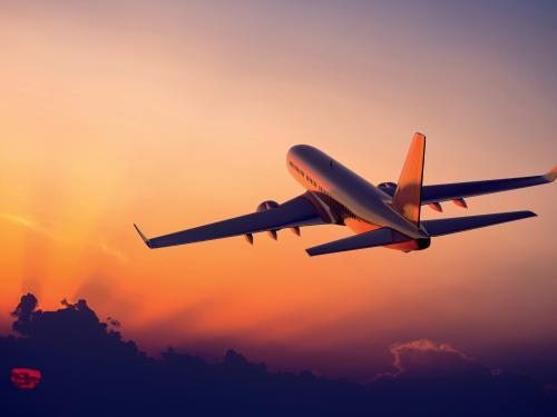 Plane Flight visiting France & Germany