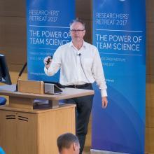 An image of the Birmingham ECMC Leads, Professor Gary Middleton